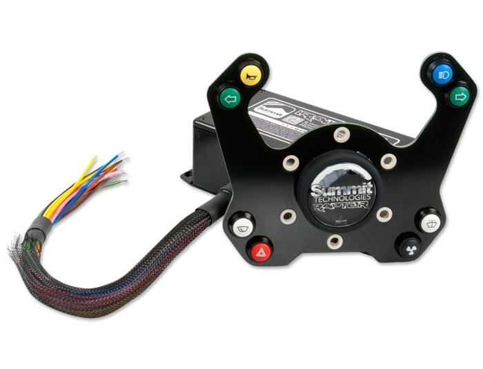 Raptor 8 Channel Wireless Control System for Steering Wheel
